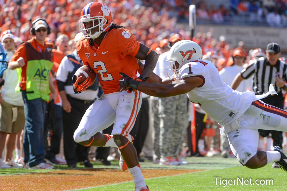Virginia Tech at No. 14 Clemson (Second Half) Photos - 2012, Football, Sammy Watkins, Virginia Tech