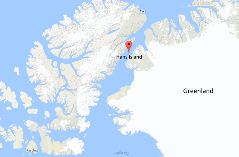 hans-island-map