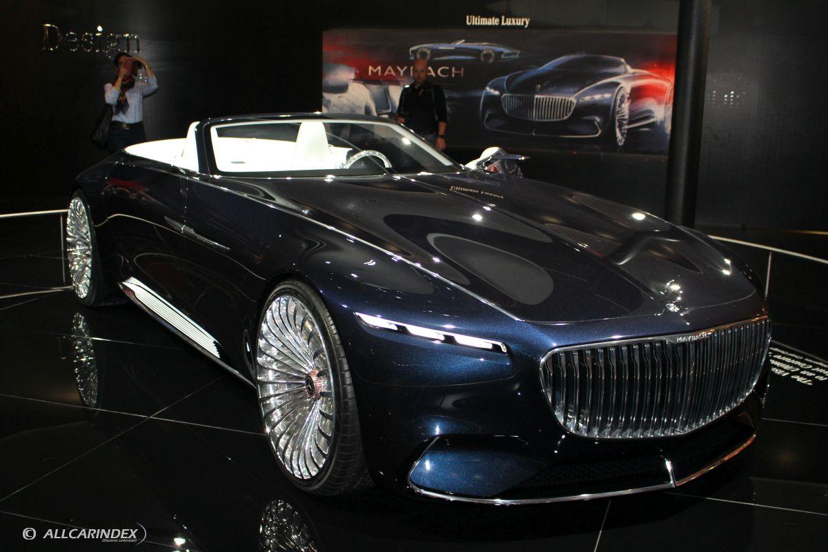 mercedes benz maybach vision 6 cabriolet concept. Black Bedroom Furniture Sets. Home Design Ideas