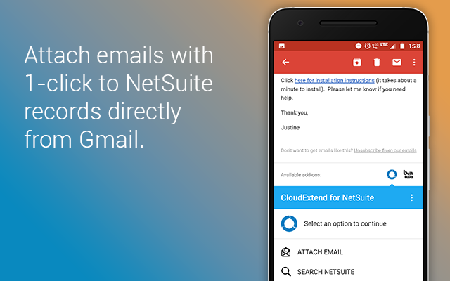 Cloudextend For Netsuite G Suite Marketplace