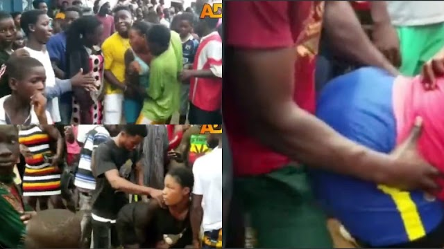 """Video from this year's """"Atopa"""" festival at Gomoa Fetteh in the Central Region"""