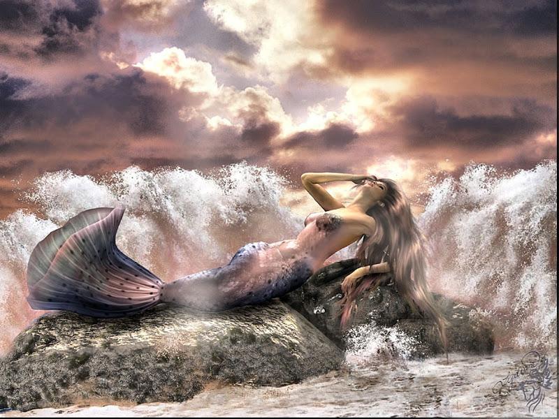 Mermaid In Waves, Mermaids