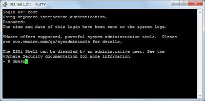Conectar y comprobar dispositivo USB a servidor físico VMware ESXi