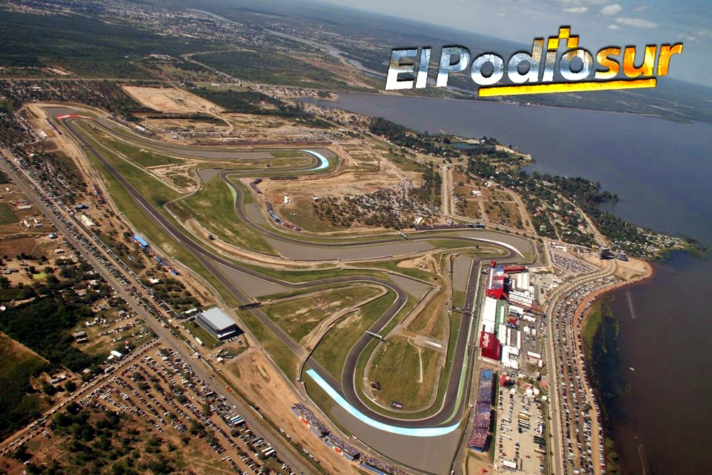 Circuito Termas De Rio Hondo : Los horarios para el moto gp de termas rio hondo