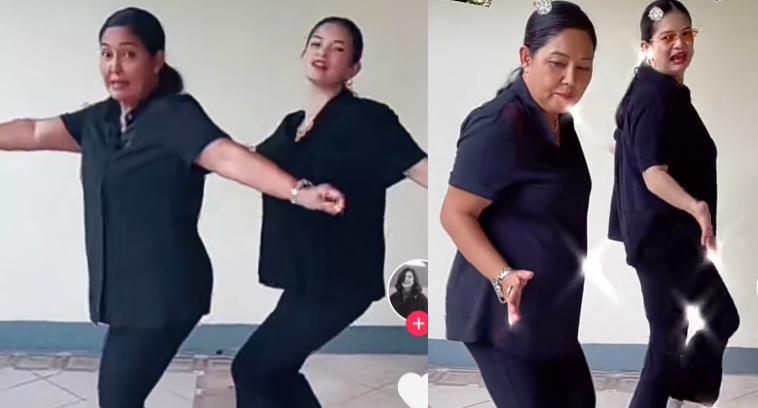 Tiktok dance video nina Maricel Soriano at Meryll Soriano, kinaaaliwan ng netizens