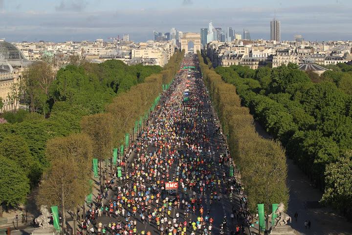 Maratón de París Schneider Electric
