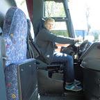 Ik achter het stuur van de Bova Magiq van Tad Tours bus 988