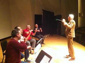 Larry Livingston conducting the MozART Phil!