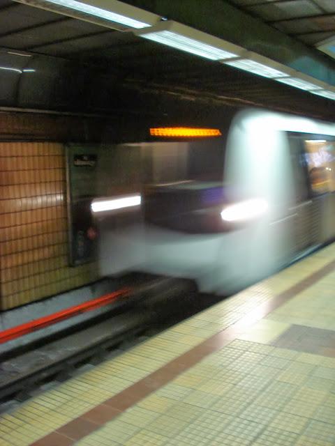 Train entering 3