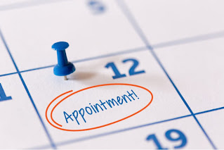 Appointments on 24th May 2021
