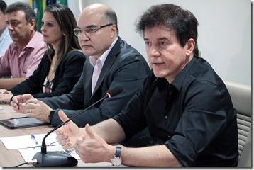 Empresários reunião oficinas de costura fot Ivanízio Ramos 4