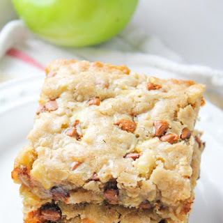 Apple Cinnamon Oat Blondies