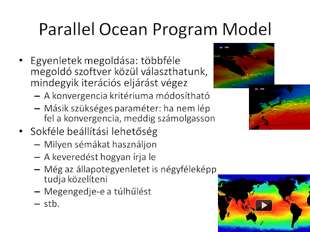 Parallel Ocean Program Model