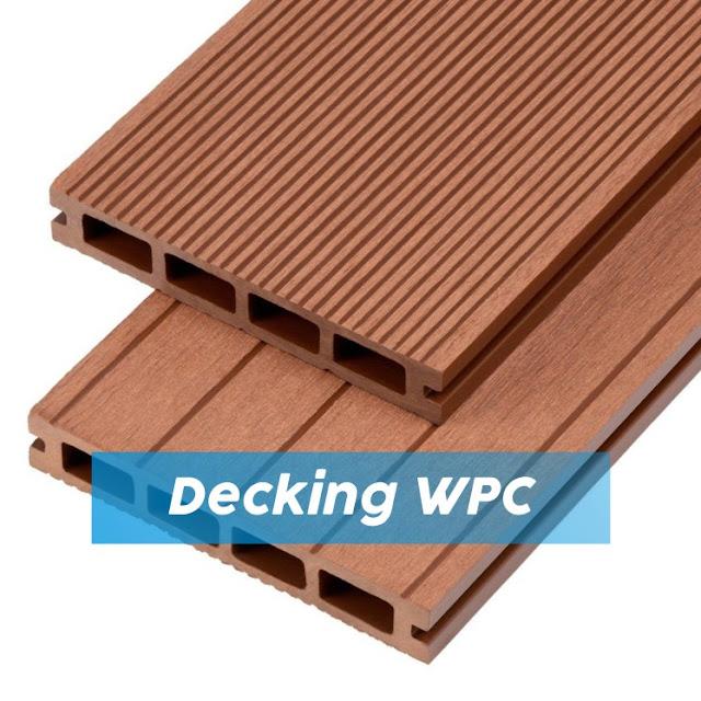 Alternatif decking kayu outdoor