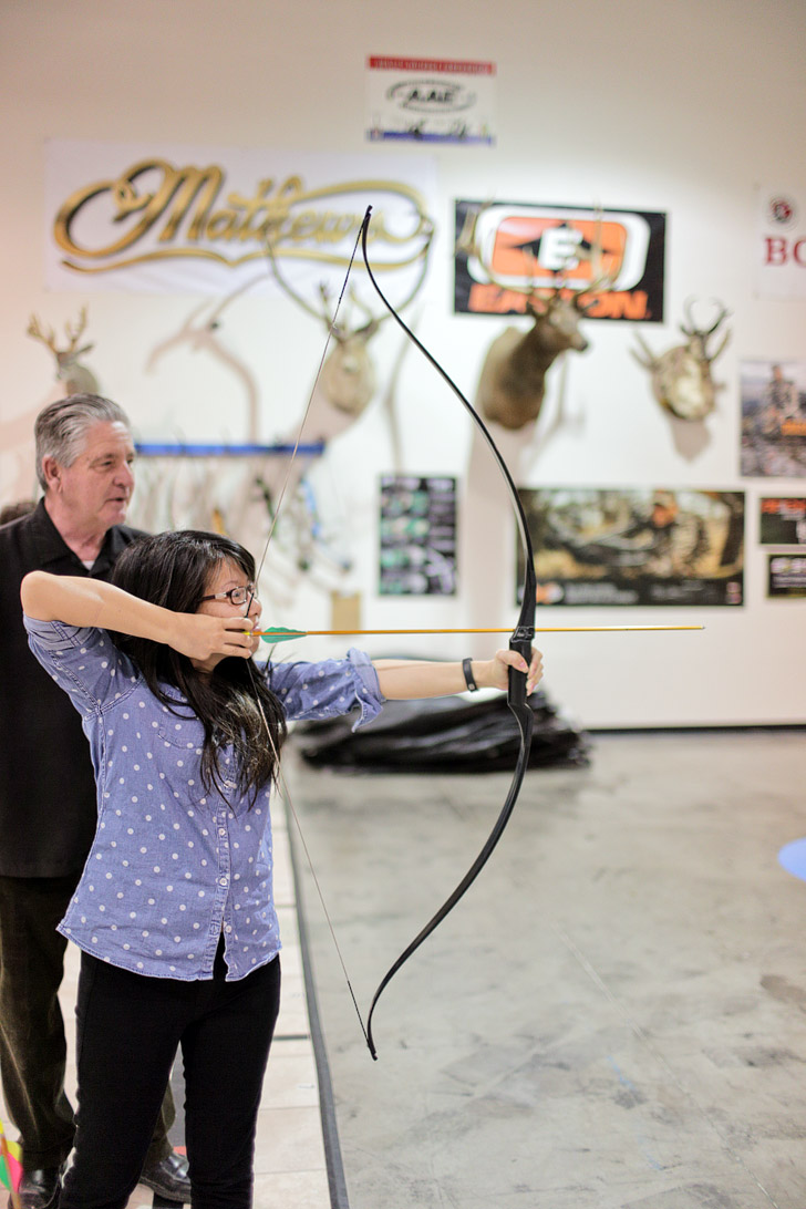 Impact Archery Las Vegas (Things to Do in Las Vegas with Kids).
