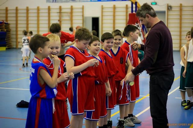 Победители новогоднего турнира по баскетболу среди команд юношей 2005-2006 года рождения - команда Ростова