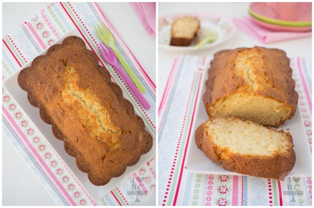 Pound cake de limón y queso