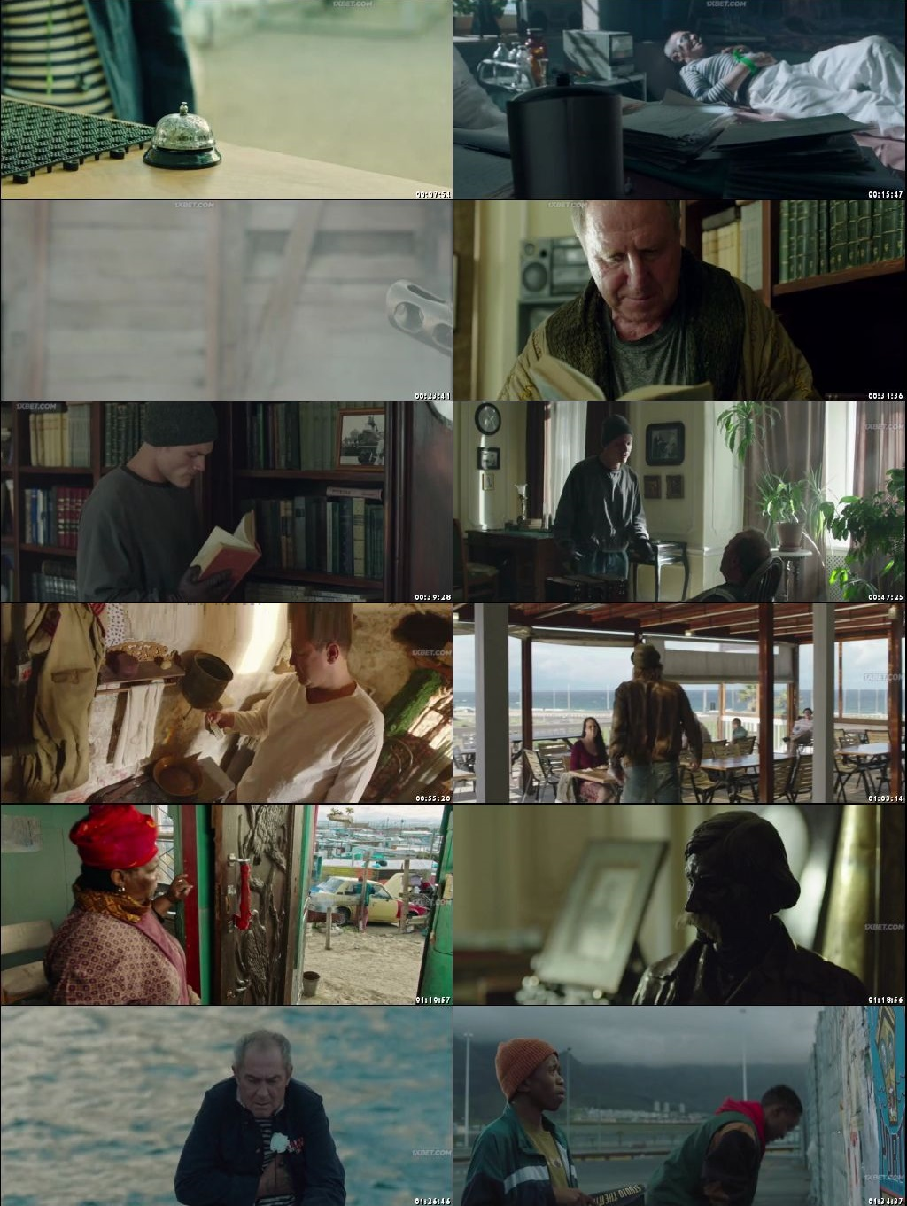Screen Shot Of In the Port of Cape Town 2019 300MB Full Movie Hindi Dubbed Free Download 480P BRRip Small Size PC Movie
