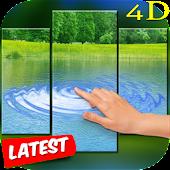 4D Ripple Lake Live Wallpaper