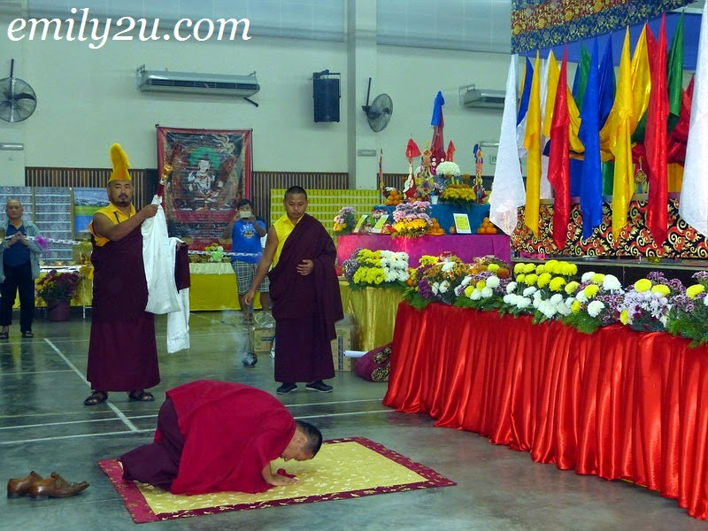 grand puja of Vajrakilaya
