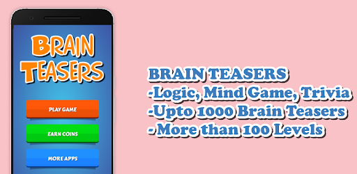 Brain Teasers - Logic, Trivia, Mind game - Google Play'de