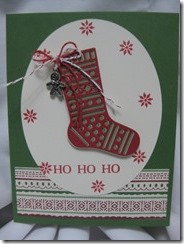 16-10 4 HoHoHo Stocking
