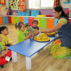 Introduction of Pineapple & Banana (Playgroup) 11.08.2016