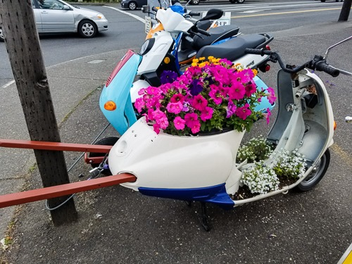 Vespa Wheelbarrow