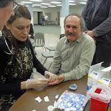 Spotkanie medyczne z Dr. Elizabeth Mikrut przy kawie i pączkach. Zdjęcia B. Kołodyński - SDC13534.JPG
