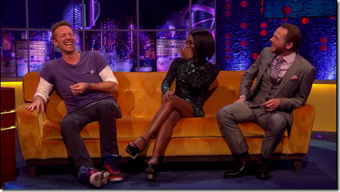 The Jonathan Ross show Coldplay Simon Pegg31