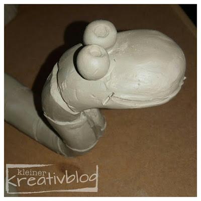 kleiner-kreativblog: Würmeli fürs Blumenbeet