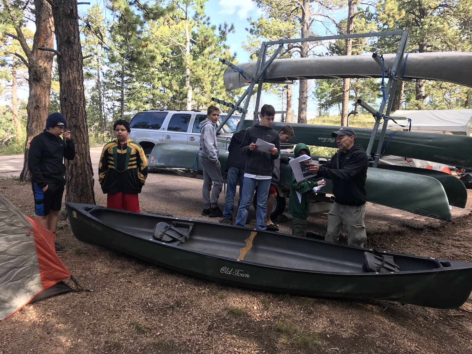Canoe Campout - Sep 2017