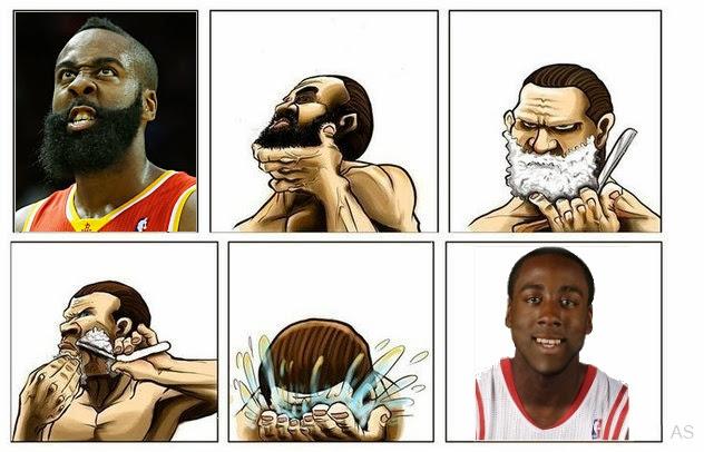 Харден и борода