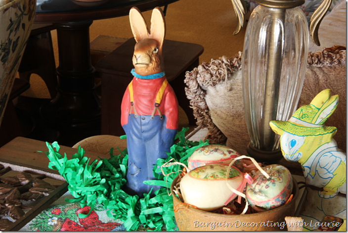 Reproduction Candy Bunny Holder
