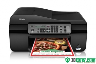 How to Reset Epson WorkForce 325 flashing lights problem