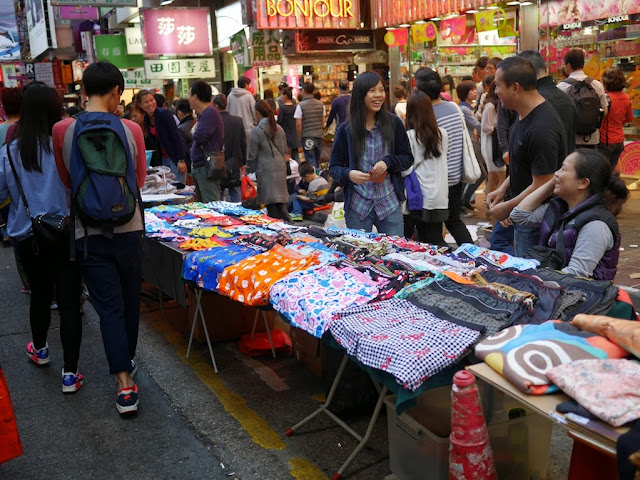 boxers for sale at Sai Yeung Choi Street South