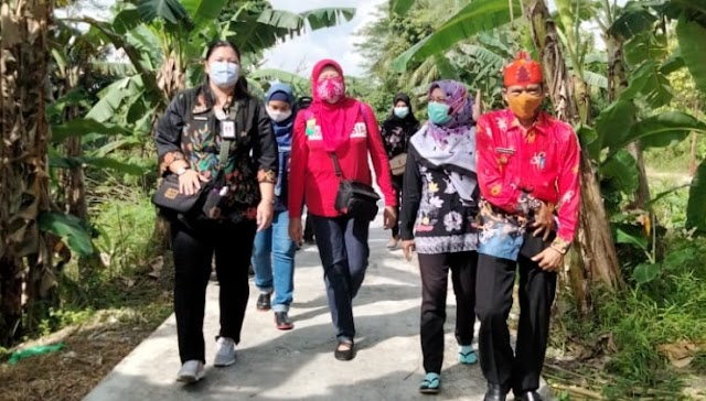 Kunker Ke Kapuas, Direktur PKG Kementerian LHK Tinjau Realisasi TK-PPEG