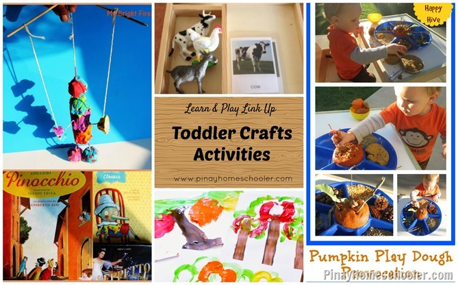 Toddler Crafts Activities