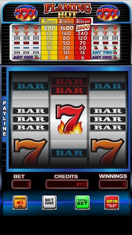 android Flaming Hot 7's Casino Slots Screenshot 0