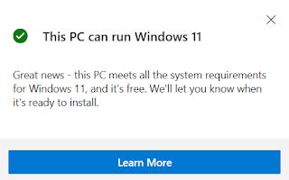 cara cek laptop yang support windows 11