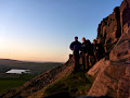 Sunset on Castle Naze (Justin, Matt, Phil)