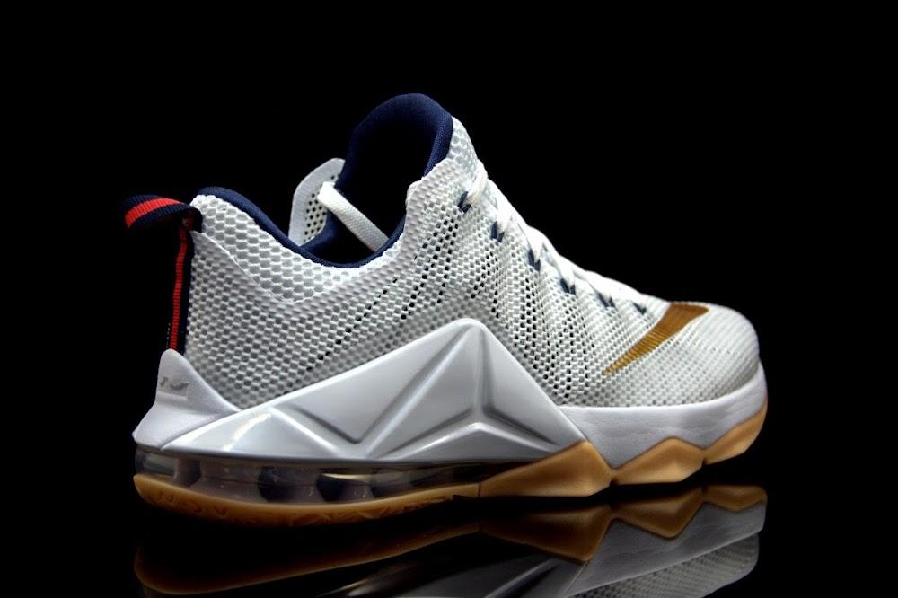 ... The Showcase Nike LeBron 12 Low 8220USA CAVS8221 ... 2f347d1f1922