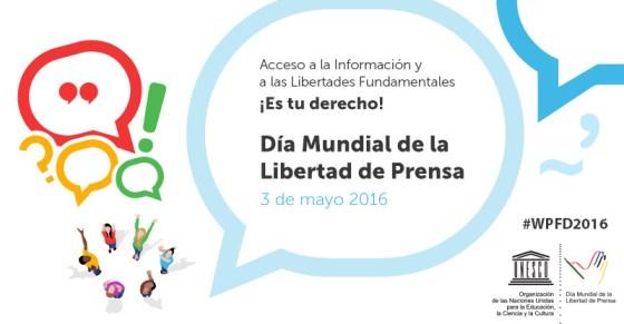 Dia Mundial Llibertat de Premsa 2016