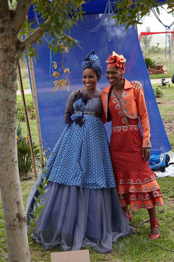 South African Traditional Dresses Designs Pictures 1