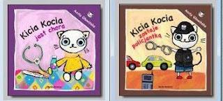 Anita Głowińska. Kicia Kocia jest chora. Kicia Kocia zostaje policjantką. (wygrywajka)