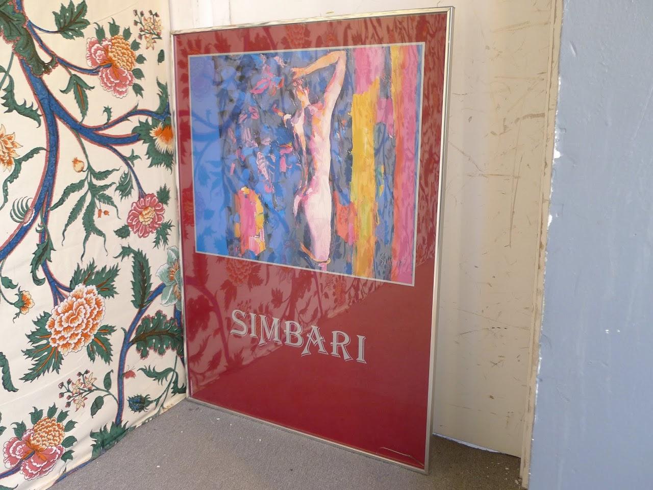 Nicola Simbari Signed Poster