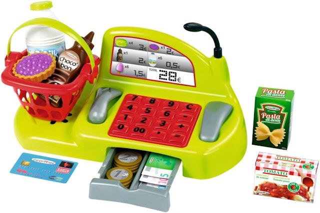 Đồ chơi Máy tính tiền di động Ecoiffier 1230 Bubble Cook Shopping