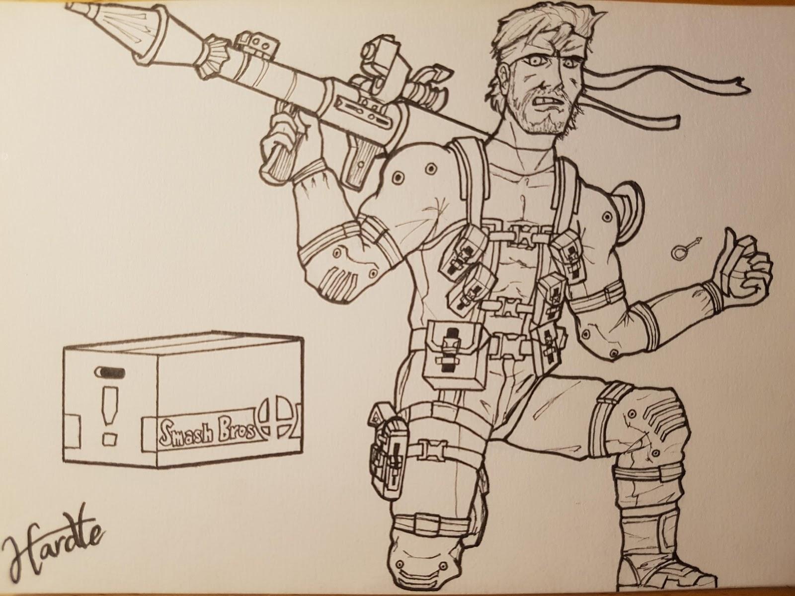Dibujos gamers y otakus