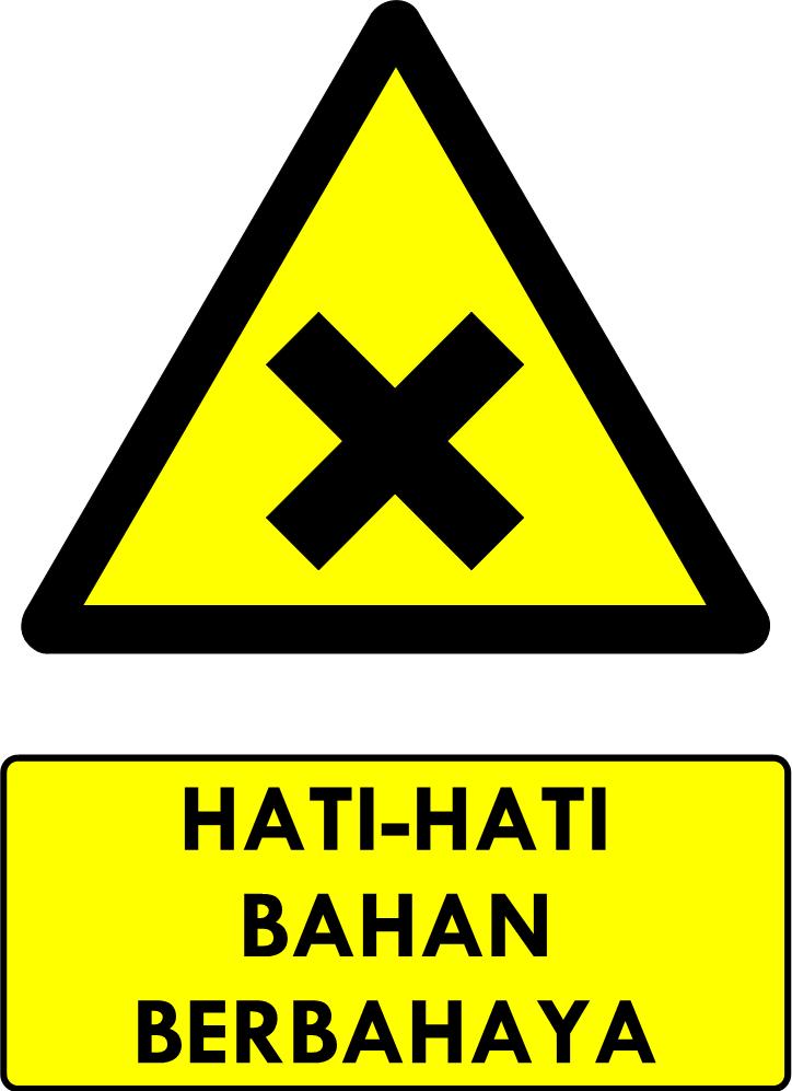 Rambu Bahaya Bahan Berbahaya