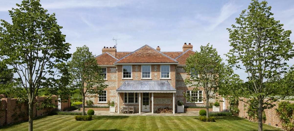 El recibidor de la casa bazeley - Imagenes de casas inglesas ...